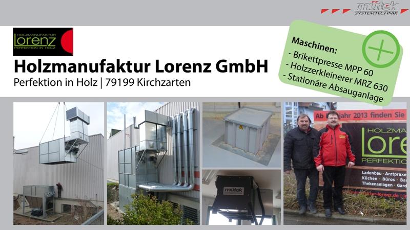 Holzmanufaktur Lorenz
