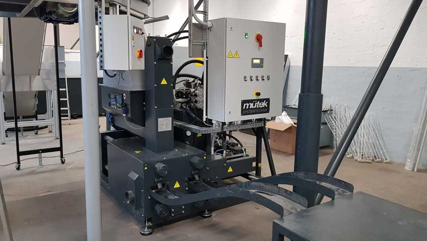 Briquetting Press MUP