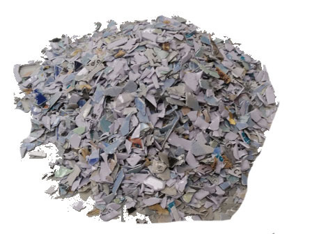 shredded chip cards