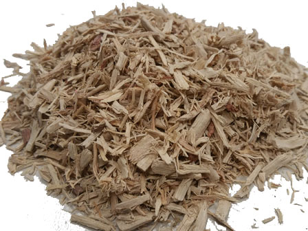 shredded ironwood