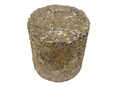 briquetted aluminium
