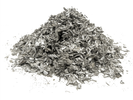 shredded aluminium