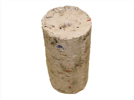 briquetted paper
