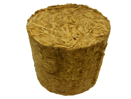 briquetted straw